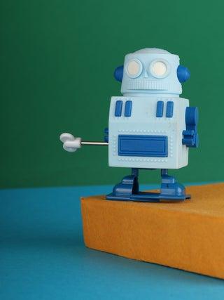Walking Eraser - Robot