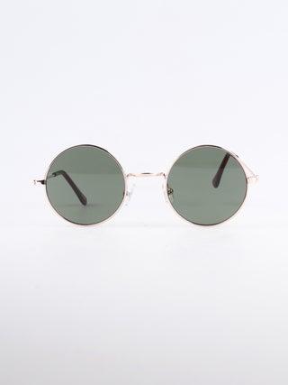 Wireframe Round Lennon Sunglasses