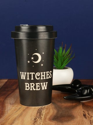 Witches Brew Bamboo Travel Cup