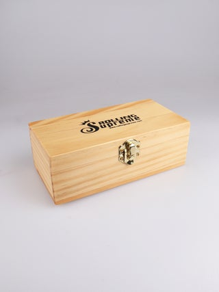 Wooden Rolling Box - Small