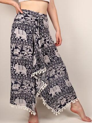 Wrap Skirt Short