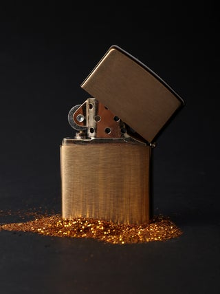 Zippo Brushed Brass